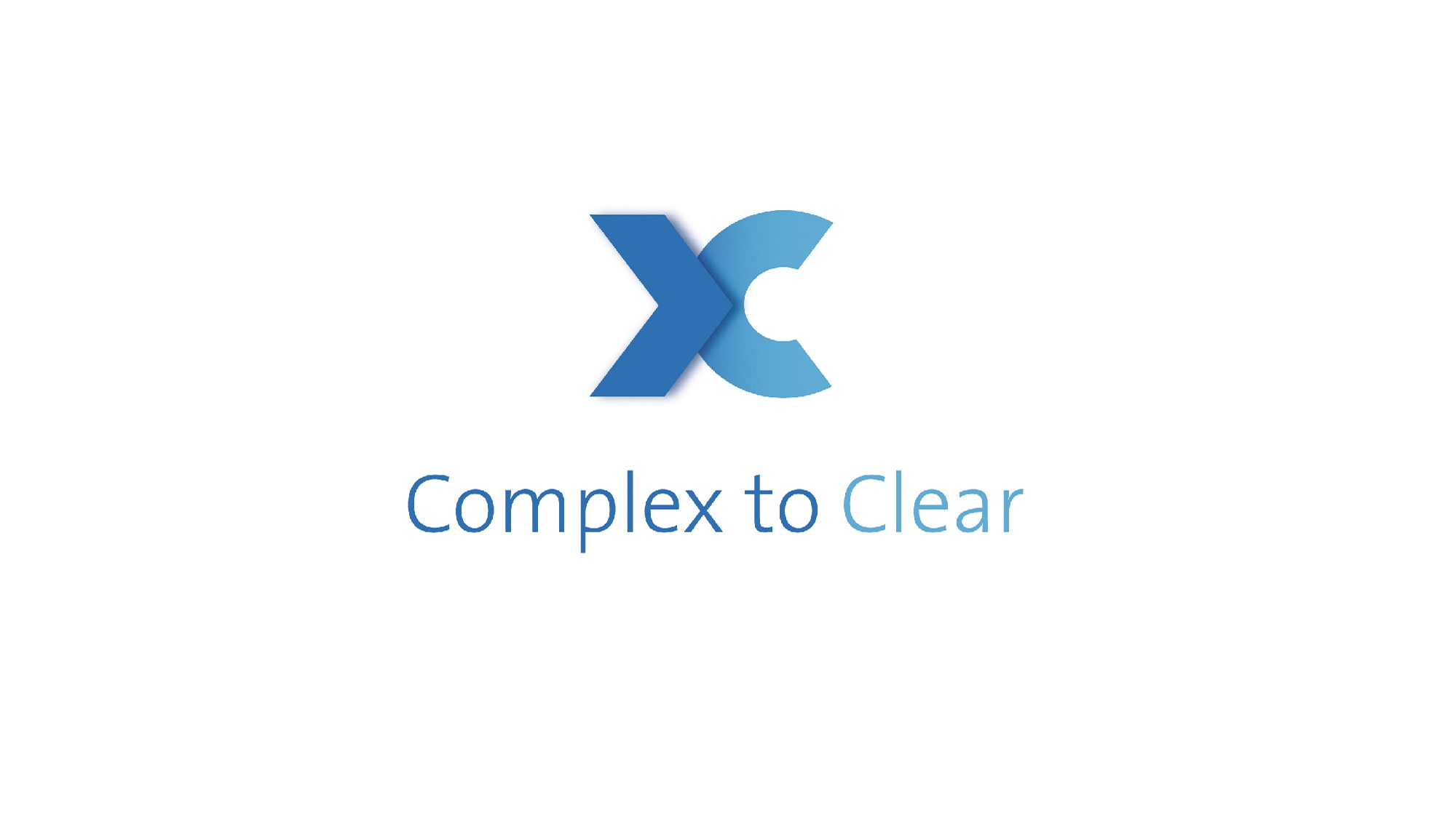 clarity logo, complex to clear