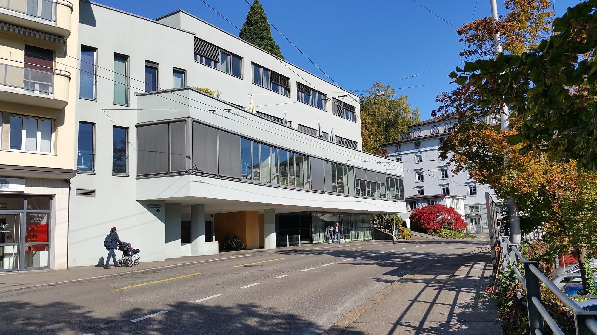 Institutsgebäude des MCM Instituts